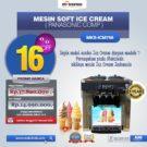 Jual Mesin Soft Ice Cream ICM766 (Panasonic Comp) di Bekasi