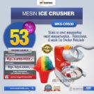 Jual Mesin Ice Crusher MKS-CRS30 di Bekasi