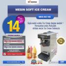 Jual Mesin Soft Ice Cream ISC-16S di Bekasi
