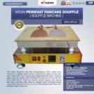 Jual Mesin Pembuat Pancake Souffle (Souffle Machine) MKS-SFL01 di Bekasi