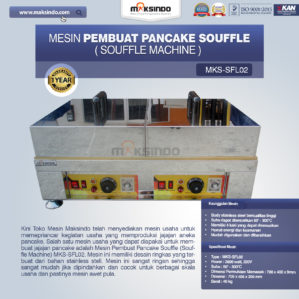 Jual Mesin Pembuat Pancake Souffle (Souffle Machine) MKS-SFL02 di Bekasi