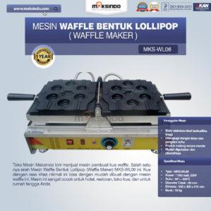Jual Mesin Waffle Bentuk Lollipop (Waffle Maker) MKS-WL06 di Bekasi