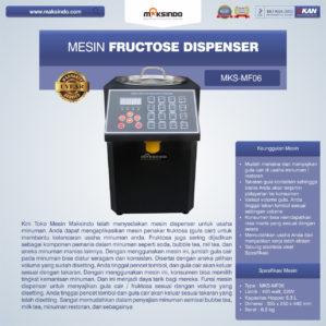 Jual Mesin Fructose Dispenser MKS-MF06 di Bekasi