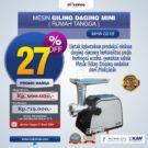Jual Mesin Giling Daging (Meat Grinder) MHW-G51B di Bekasi