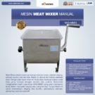 Jual Manual Meat Mixer MKS-MM01 di Bekasi