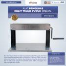 Jual Alat Pengupas Kulit Telur Puyuh Manual MKS-QEG15 di Bekasi