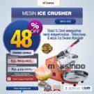 Jual Mesin Es Serut (Ice Crusher- MKS002) di Bekasi