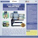 Jual Mesin Parut Kelapa Mini PRT-25 di Bekasi