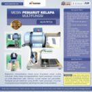 Jual Mesin Pemarut Kelapa Multifungsi PRT-30 di Bekasi