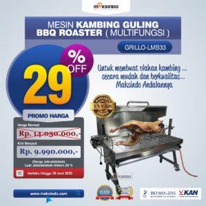 Jual Mesin Kambing Guling BBQ Roaster (GRILLO-LMB33) di Bekasi