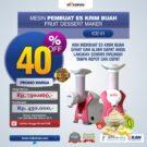 Jual Mesin Es Krim Buah Rumah Tangga di Bekasi