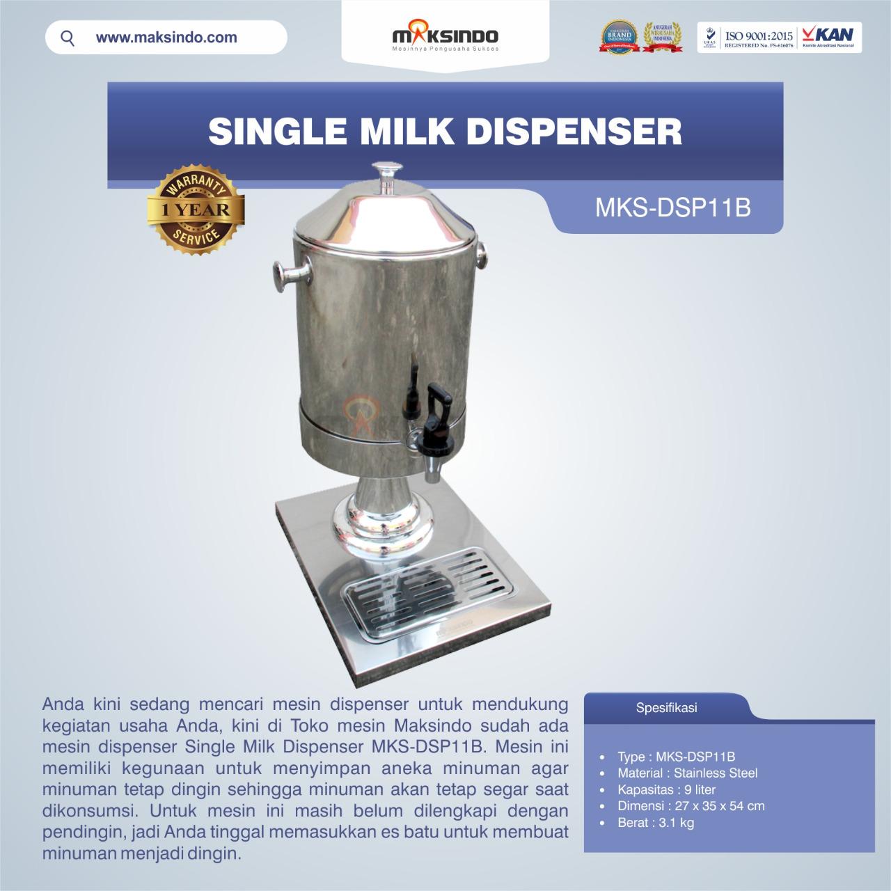 Jual Single Milk Dispenser MKS-DSP11B di Bekasi