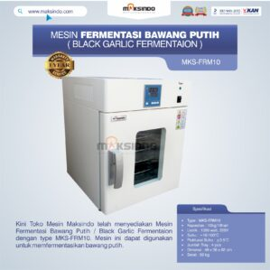 Jual Mesin Fermentasi Bawang Putih / Black Garlic Fermentaion MKS-FRM10 di Bekasi