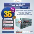 Jual Mesin Oven Roti Gas (MKS-GO11) di Bekasi