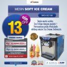 Jual Mesin Soft Ice Cream ISC-188 di bekasi