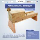 Jual Perajang Manual Serbaguna MKS-JT01med di Bekasi