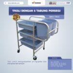 Jual Troli Dengan 5 Tabung Persegi MKS-TRY5 di Bekasi