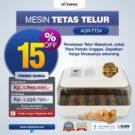 Jual Mesin Penetas Telur AGR-TT24A di Bekasi