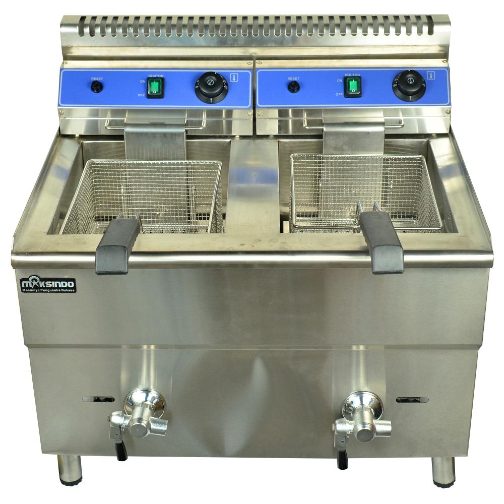 Jual Mesin Gas Fryer 34 Liter (MKS-182) di Bekasi
