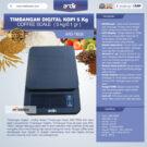 Jual Timbangan Digital Kopi 5 kg ARD-TBG5 (coffee scale) di bekasi