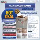 Jual Hot Deal Mesin Vacuum Sealer Type MSP-DZ400/2 E di Bekasi