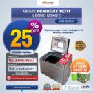 Jual Pembuat Roti Bread Maker ARD-BM55X di Bekasi