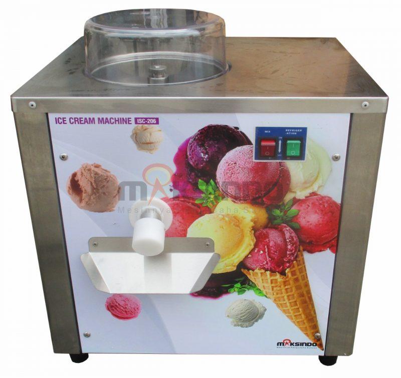 Jual Mesin Gelato Hard Ice Cream ISC-206 di Bekasi