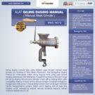 Jual Alat Giling Daging Manual (Iron) di Bekasi