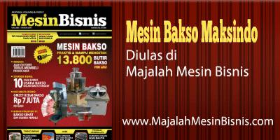 Jual Paket Mesin Pembuat Bakso Maksindo Terbaru di Bekasi
