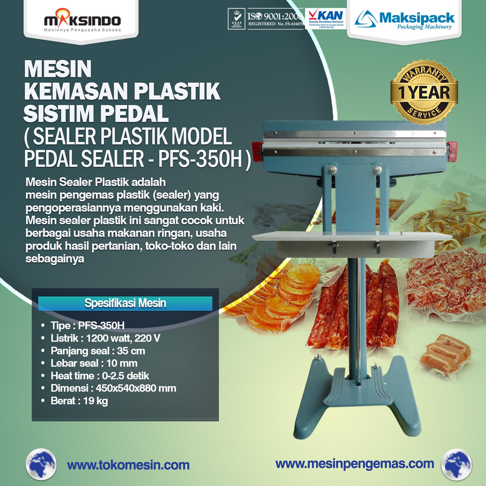 Jual Mesin Sealer Plastik Pedal Sealer di Bekasi