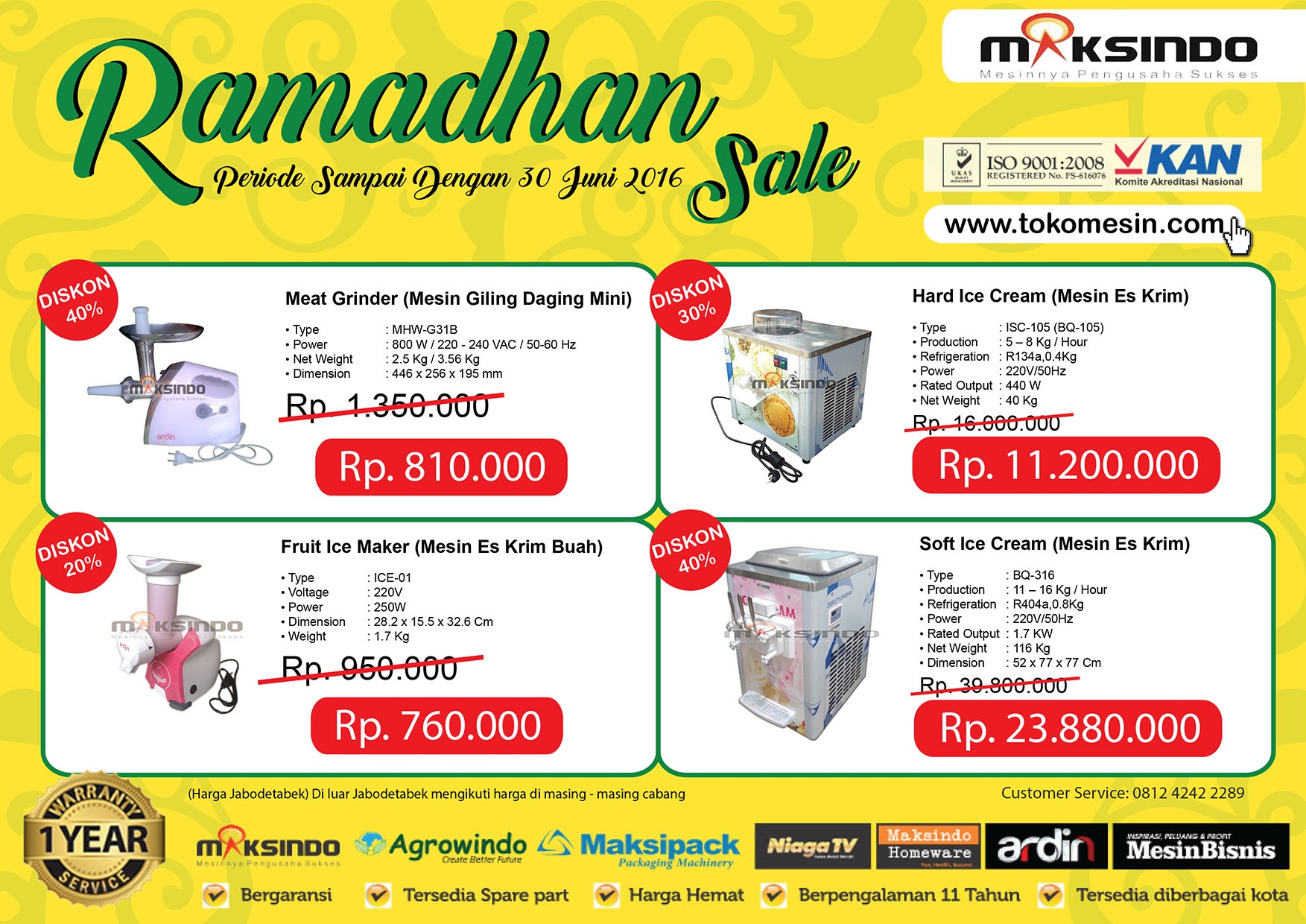 Up to 40 % PROMO RAMADHAN SALE