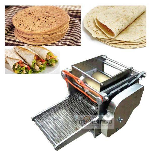 Jual Mesin Roti Tortilla/Pita/Chapati – TRT50 di Bekasi