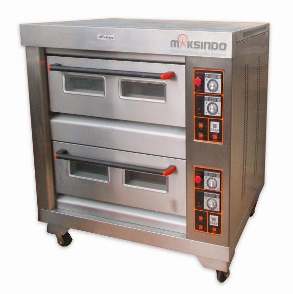 Jual Mesin Oven Roti Gas 4 Loyang (MKS-RS24) di Bekasi
