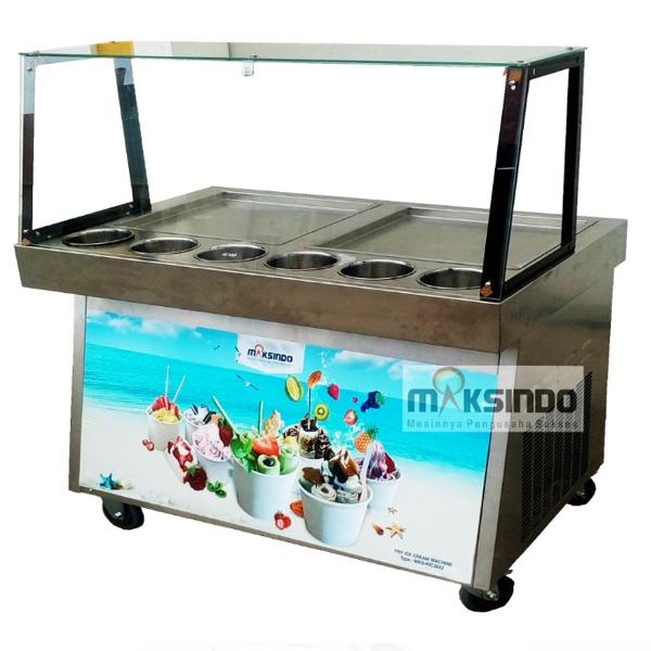 Jual Mesin Roll Fry Ice Cream RIC36x2 di Bekasi