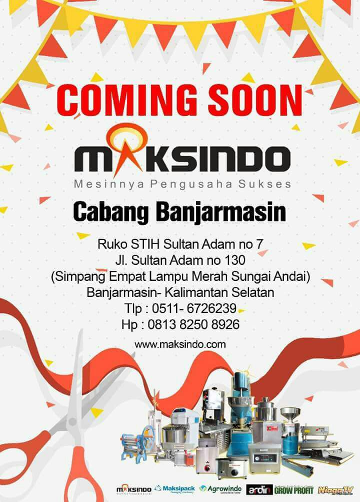 Coming Soon Maksindo Banjarmasin