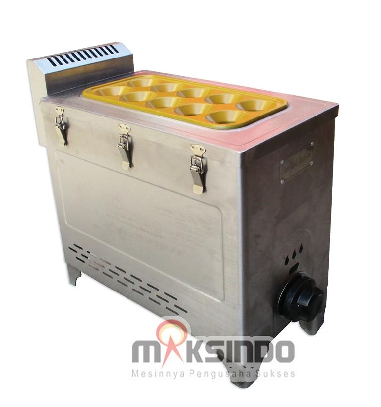Jual Mesin Pembuat Egg Roll (Gas) GRILLO-12SS di Bekasi