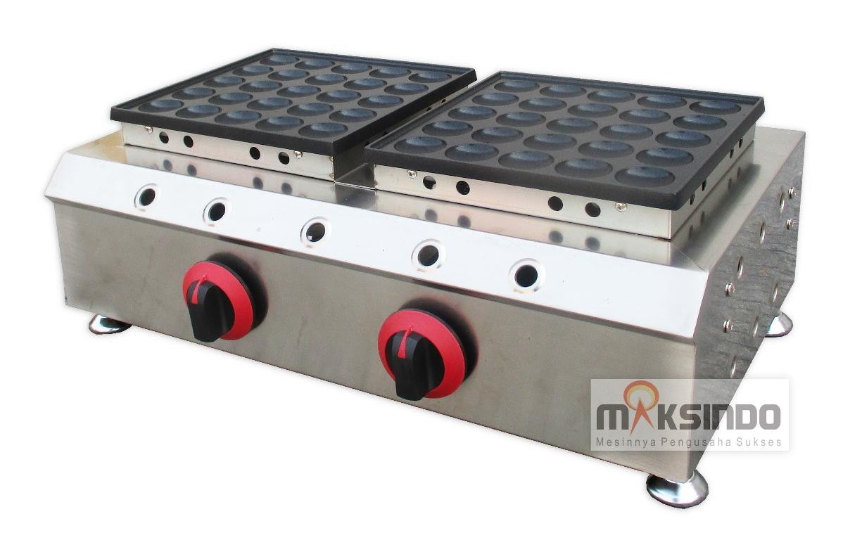 Jual Mini Pancake Poffertjes Gas 50 Lubang MKS-MPC50 di Bekasi