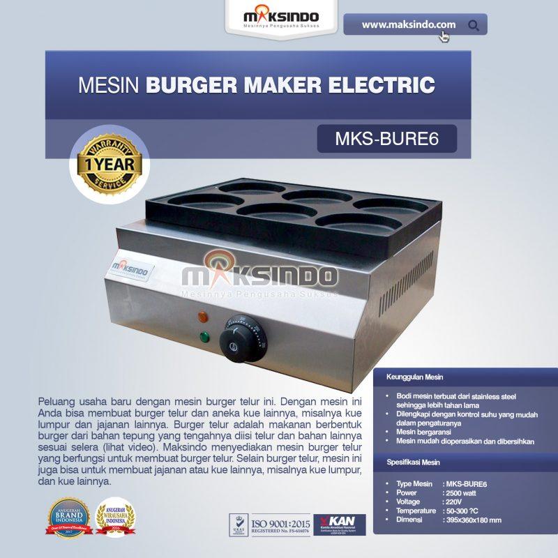 Jual Burger Maker Electric MKS-BURE6 di Bekasi