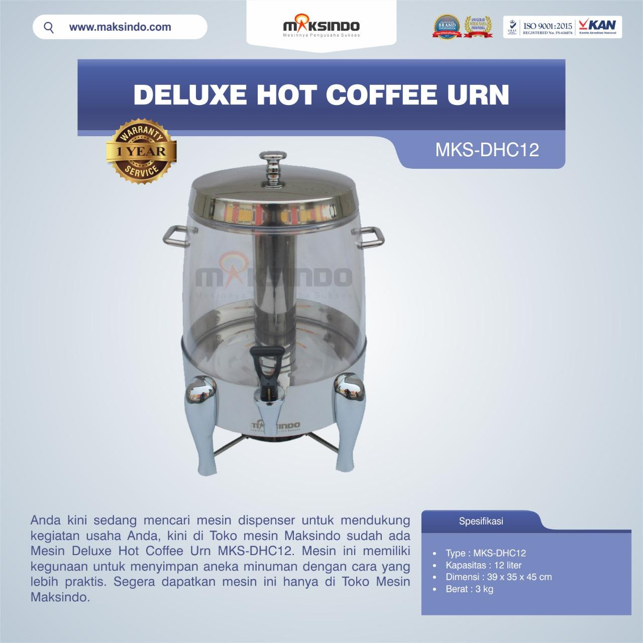 Jual Deluxe Hot Coffee Urn MKS-DHC12 di Bekasi