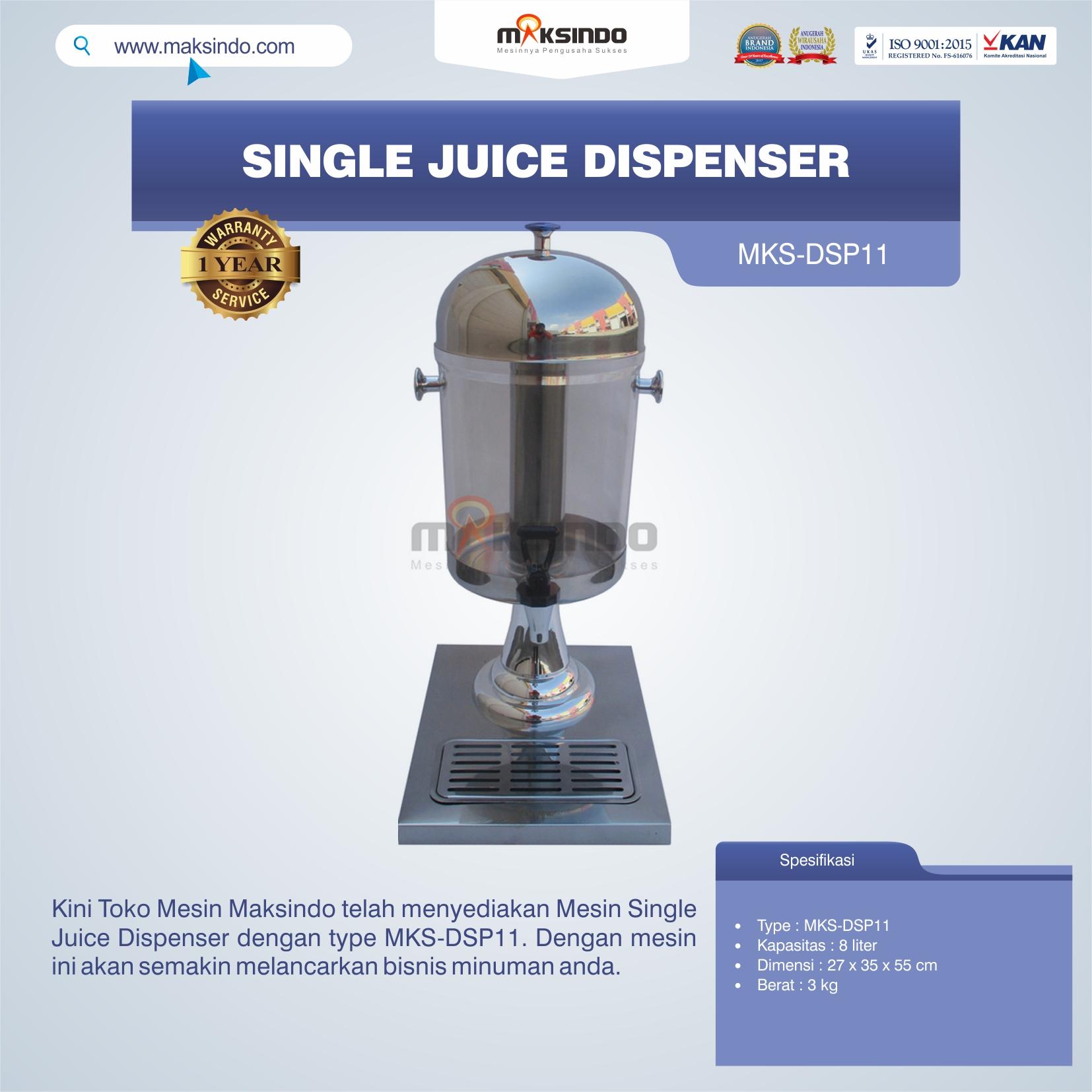 Jual Single Juice Dispenser MKS-DSP11 di Bekasi