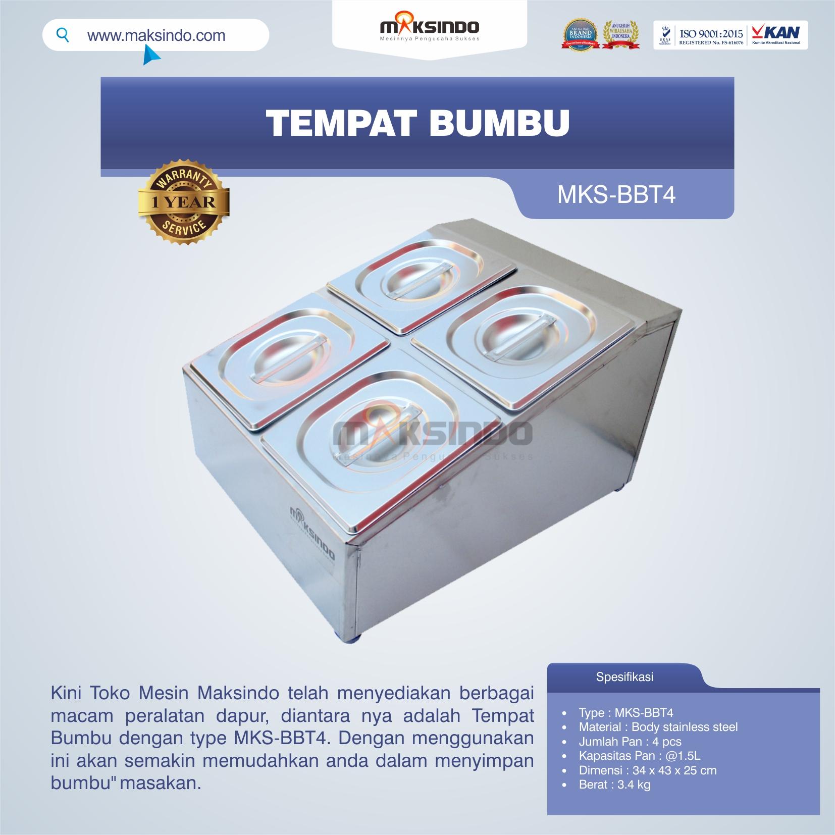 Jual Tempat Bumbu MKS-BBT4 di Bekasi