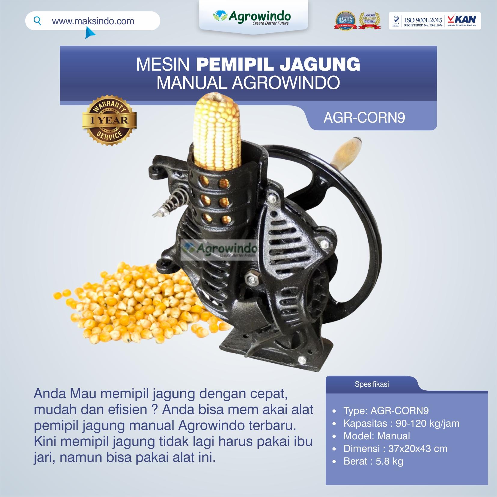 Jual Alat Pemipil Jagung Manual Agrowindo AGR-CORN9 di Bekasi